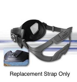 Omer Omer Zero Black Silicone Mask Strap