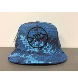Florida Freedivers Florida Freedivers Lucky Flat Hat, Camo