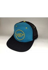 Florida Freedivers Florida Freedivers Lucky Flat Hat, Bahama