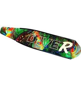 DiveR DiveR Fiberglass Blades, Medium, Tako