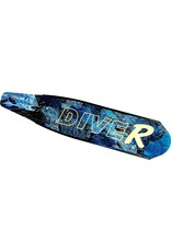 DiveR DiveR Fiberglass Blades, Medium, Blue Bone