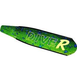 DiveR DiveR Carbon Mahi Blades, Soft