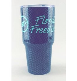 Florida Freedivers FLF Carbon Seafoam Tumbler 30oz