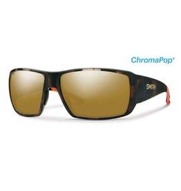 Smith Guide's Choice Howler Matte Tortoise w/ ChromaPop Plus Polarized Bronze Mirror Lens