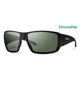 Smith Guide's Choice Matte Black Frame w/ ChromaPop Polarized Gray Green Lenses