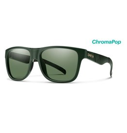 Smith Smith Lowdown XL Matte Olive Camo Frame w/ ChromaPop Polarized Gray Green Lenses