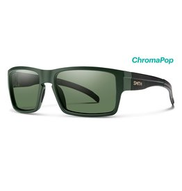 Smith Smith Outlier XL Matte Olive Camo Frame w/ ChromaPop Polarized Gray Green Lenses