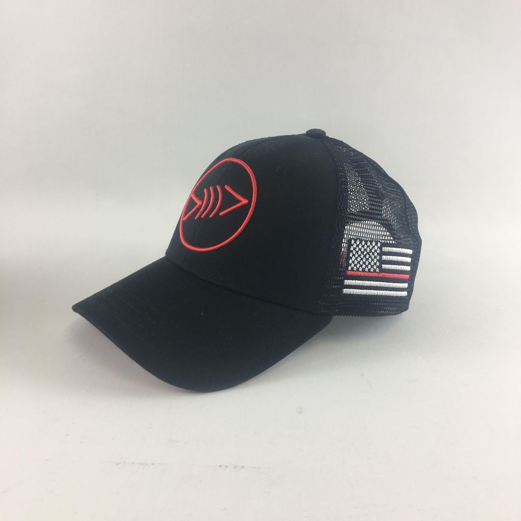Florida Freedivers Lucky Red First Responder Hat
