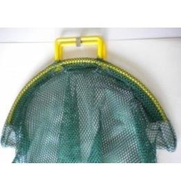 XLarge Green Lobster Fish Mesh Bag with Wide Mouth Coated Handle Opening 24 in. x 26 in.