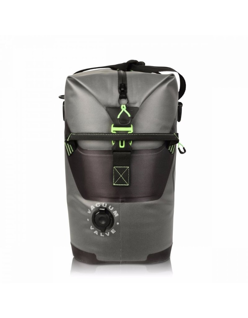 Engel High Performance 30L Bag-Gray/Lime Green