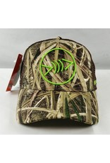 Florida Freedivers Florida Freedivers Lucky Curve Hat, Camo Lime Green