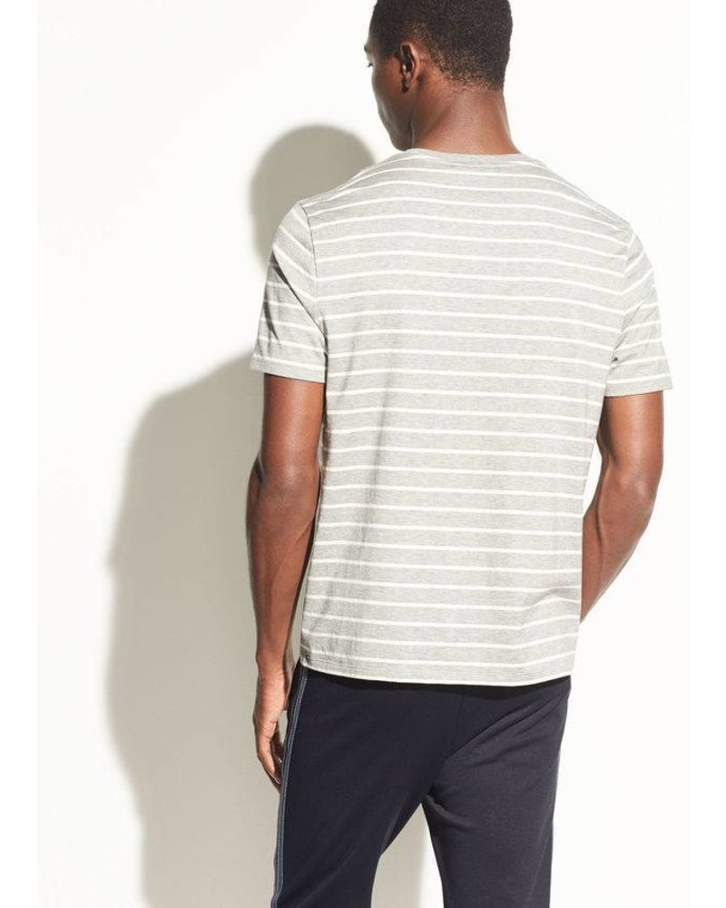 Vince Heathered Stripe SS