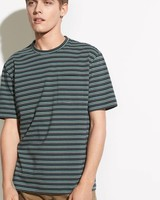 Vince Multi Stripe S/S