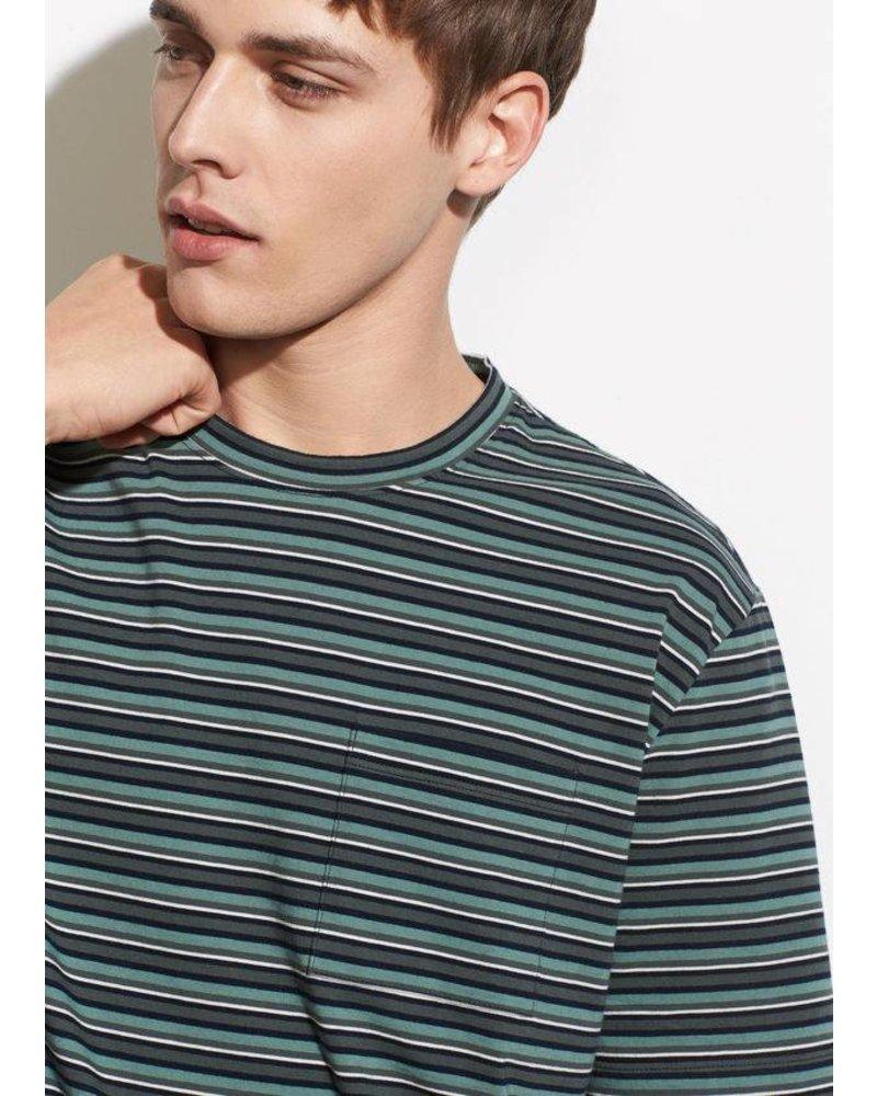 Vince Multi Stripe S/S