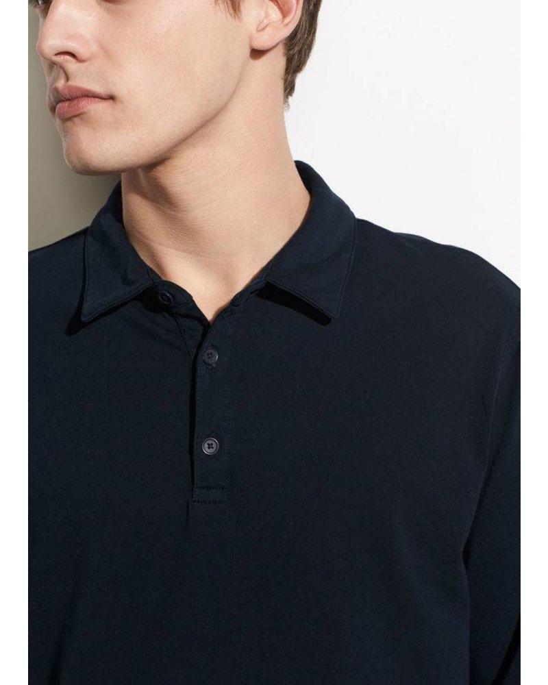 Vince Garment Dye L/S Polo