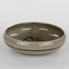 "Mark Hewitt Mark Hewitt, Serving Bowl, 3 x 10"" dia"