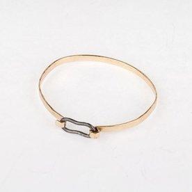 Gabrielle Gould Gabrielle Gould, Golden Wrist Wrap, 14K, sterling
