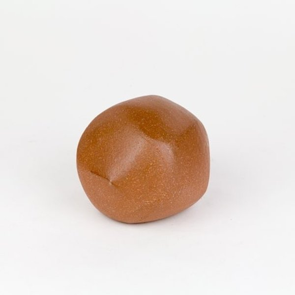Shadow May, boulder, wheel thrown stoneware, glaze, 4.5x3.75x3.5