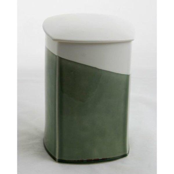 "Nicholas Bivins, XL Jar, porcelain,9 x 6 x 6"""