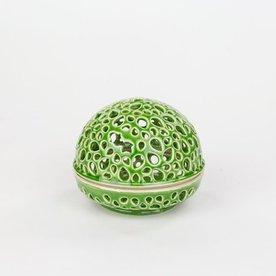 Masa Sasaki Masa Sasaki, Tea Candle, porcelain, glaze, 3 X 3.5 dia