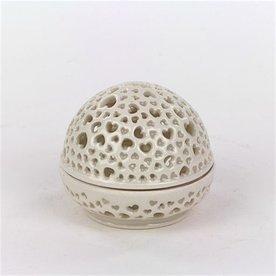 Masa Sasaki Masa Sasaki, Tea Candle, porcelain, glaze, 3.5 X 3.75 dia