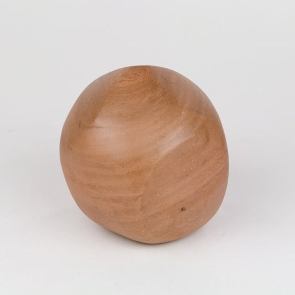 Shadow May, boulder, wheel thrown stoneware, glaze, 4.5x4.5x5