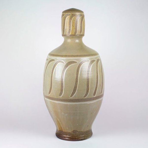 Alex Matisse/ East Fork Pottery, Vase, wood fired, 25 x 12.5 dia