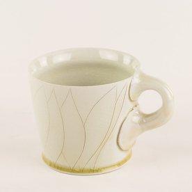 "Steve Godfrey SOLD Steve Godfrey, Coffee Mug, 3.25 x 5 x 3.75"""
