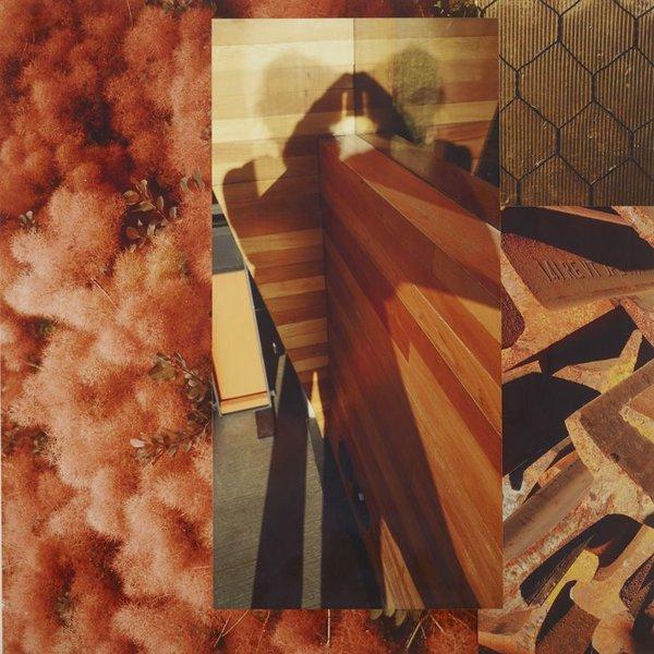 Pattiy Torno, Fotopiecing (18x18), digital archival pigment inkjet fotoprints, wood, lacquer