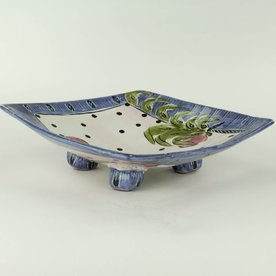 Posey Bacopoulos Posey Bacopoulos, Pasta Bowl, majolica