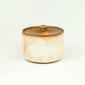 "Nancy Green Nancy Green, Lidded Sugar Bowl, 3.5 x 3"" dia"