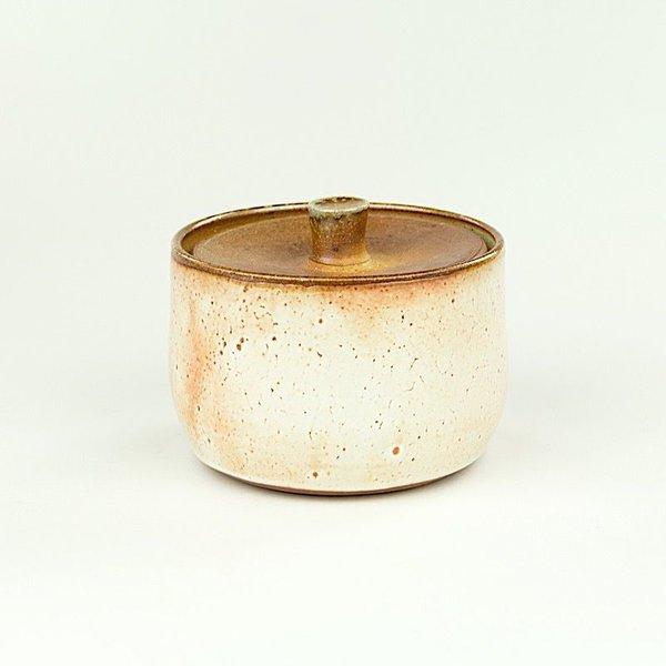 "Nancy Green Nancy Green, Lidded Sugar Bowl, 3.5 x 3"" dia"