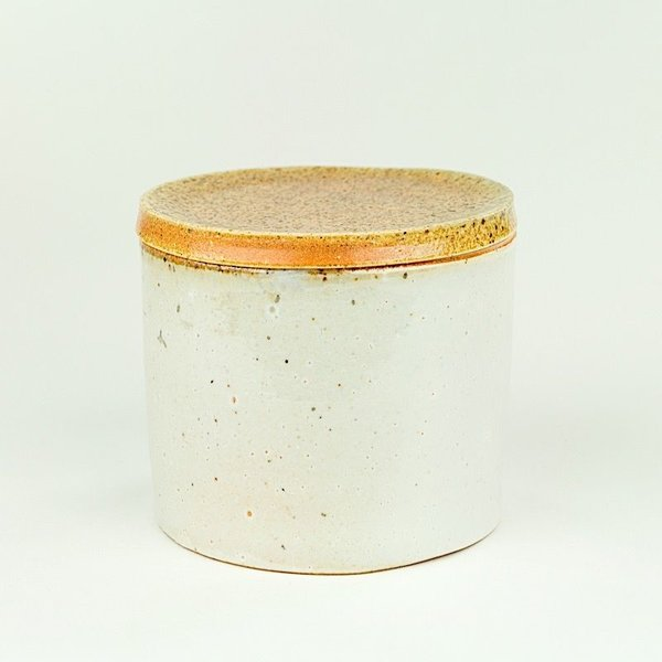 "Nancy Green Nancy Green, Storage Jar , 3.75 x 4.25"" dia"