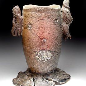 "Andy Nasisse Andy Nasisse, Little Ghost Vase,  8.5 x 6 x 5"""