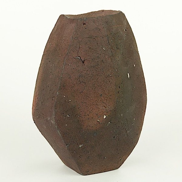 "Josh Copus Josh Copus, Stone Vessel Series, wood-fired wild harvested clay,  x  x """