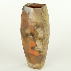 Josh Copus Josh Copus, Rectangle Vessel, wood-fired wild harvested clay