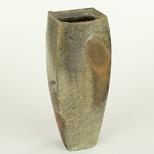 Josh Copus Josh Copus, Rectangle Vessel, wood-fired wild harvested clay,  x  x ""