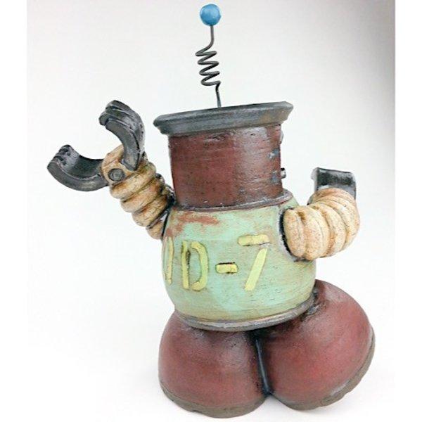 "Michael Klapthor Michael Klapthor, QD-7, ceramic, glaze, 8 x 6 x 5.5"""