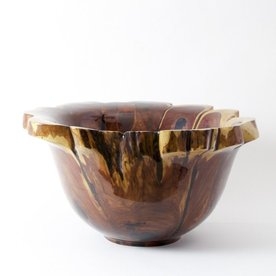 "Philip Moulthrop Philip Moulthrop, Red Cedar with Natural Edge, 11 x 21"" dia"