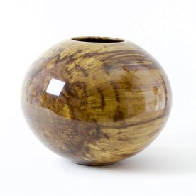 "Philip Moulthrop Philip Moulthrop, Spalted Sweetgum, 9.25 x 11.25"" dia"