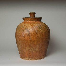 "Matt Kelleher Matt Kelleher, Jar, soda-fired earthenware, 16.75 x 12"""