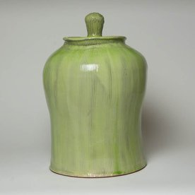 Matt Kelleher Matt Kelleher, Jar, soda-fired earthenware, 16.5 x 11""