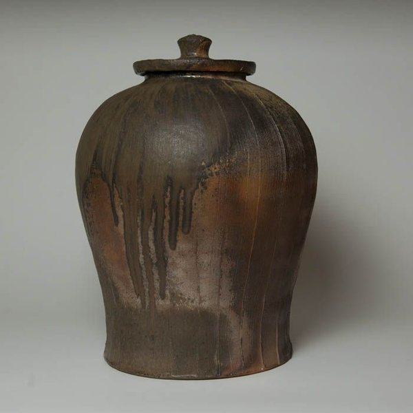 Matt Kelleher Matt Kelleher, Jar,  wood-fired earthenware, 16.875 x 11.75