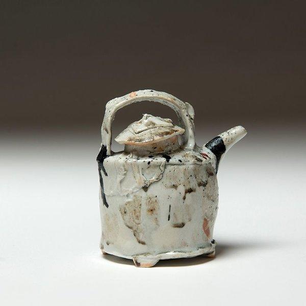 "Ted Saupe Ted Saupe, Sauce Pot, porcelain, 2.75 x 8.75"""