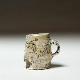"Ted Saupe Ted Saupe, Mug, porcelain, 3.75 x 3 x 4"""