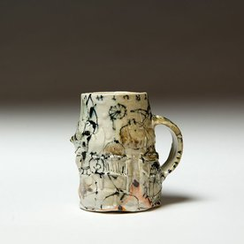"Ted Saupe Ted Saupe, Mug, porcelain, 4 x 3 x 4"""