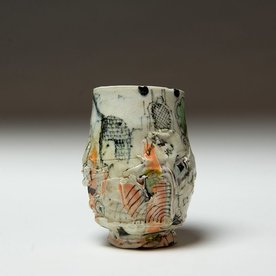 """Ted Saupe Ted Saupe, Yunomi, porcelain, 4.5 x 3.5"""""""