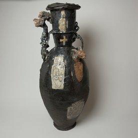 Ted Saupe Ted Saupe, Black Sheep, porcelain,