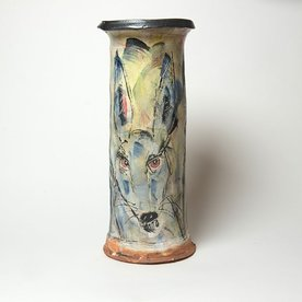 """Ron Meyers Ron Meyers, Vase, 17.75 x 7.75"""""""