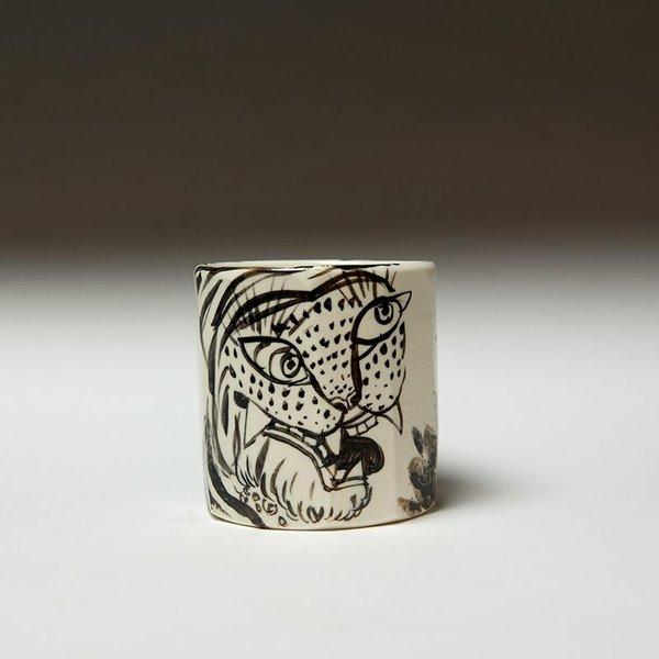"""Sunkoo Yuh Sunkoo Yuh, Yunomi, porcelain, 3.75 x 3.5"""""""